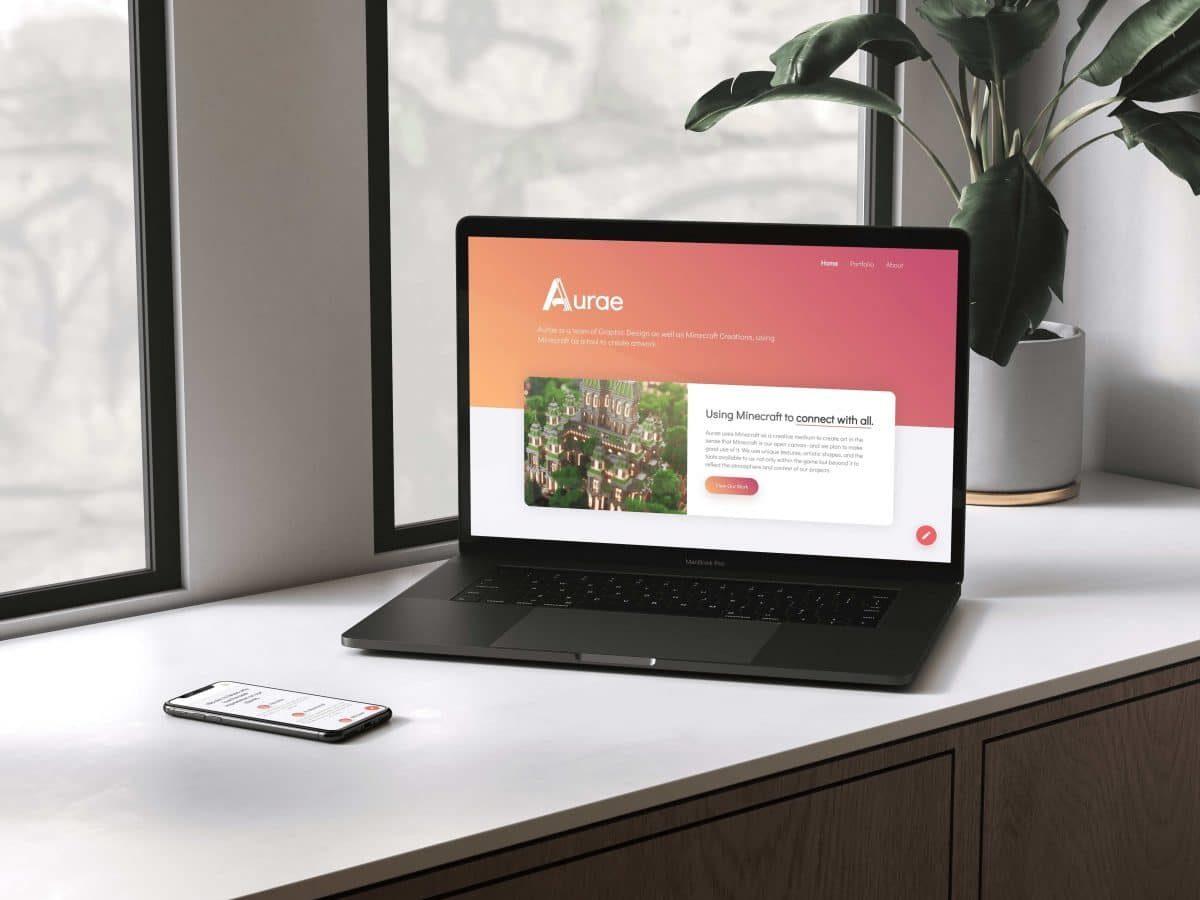 Aurae - Web & UI Design